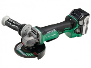 Hitachi launches brushless 18V Angle Grinder