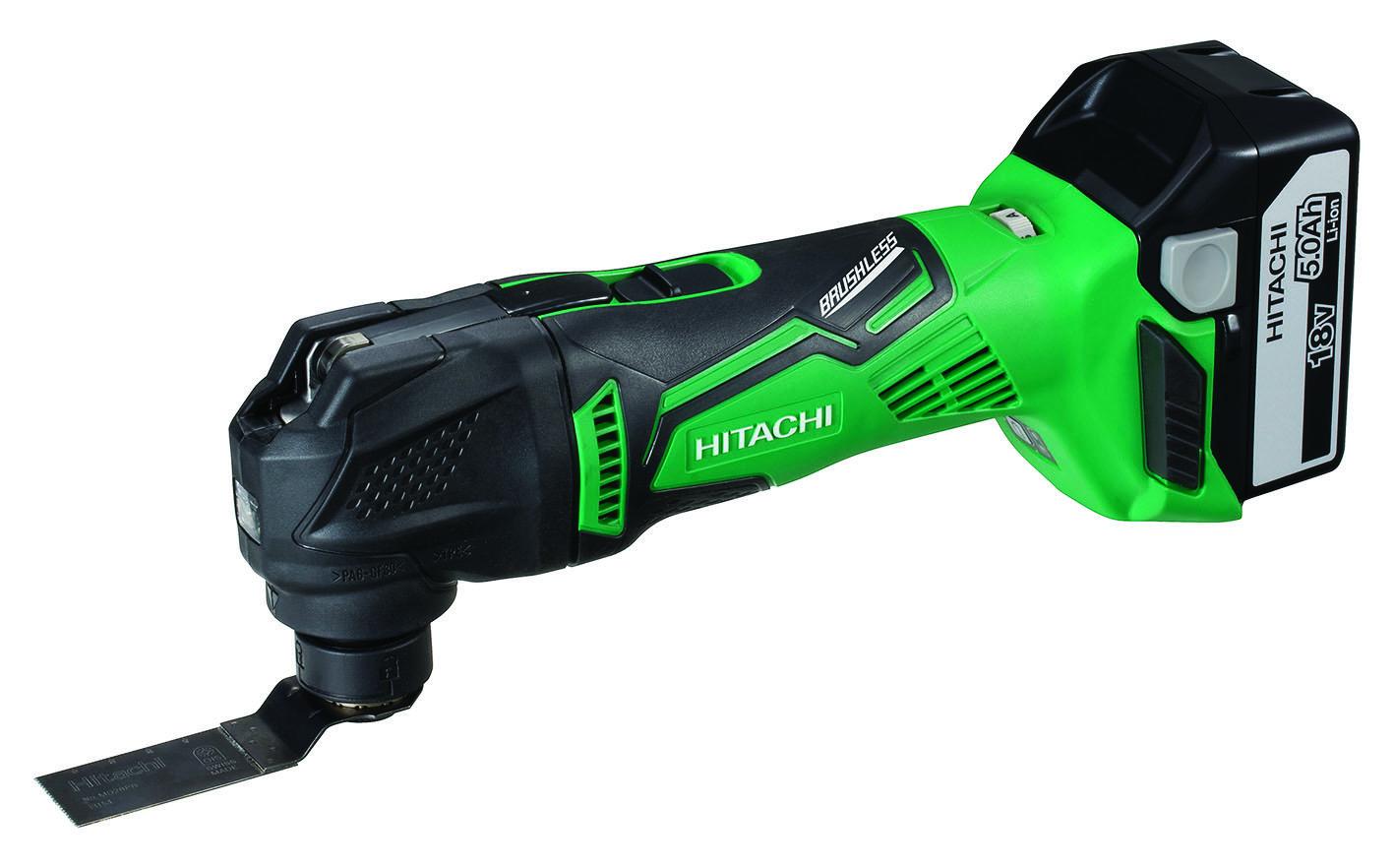 Hitachi launches brushless 18V Multi Tool
