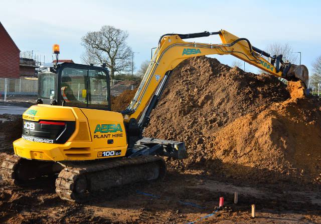 ABBA Praises unique JCB Midi excavator