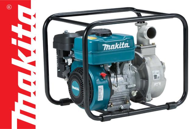 Makita expands water pump range with 4-stroke models
