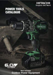 Hitachi catalogue cover