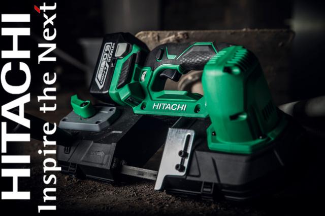 Hitachi Power Tools launches new 18V Brushless Band Saw