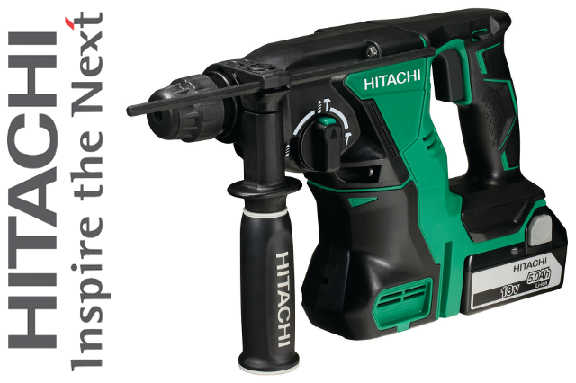 Hitachi Power Tools Launches Ultra-Powerful SDS Hammer Drill
