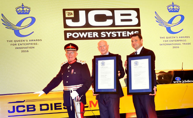 Double Award For Record Breaking JCB Engine Producer