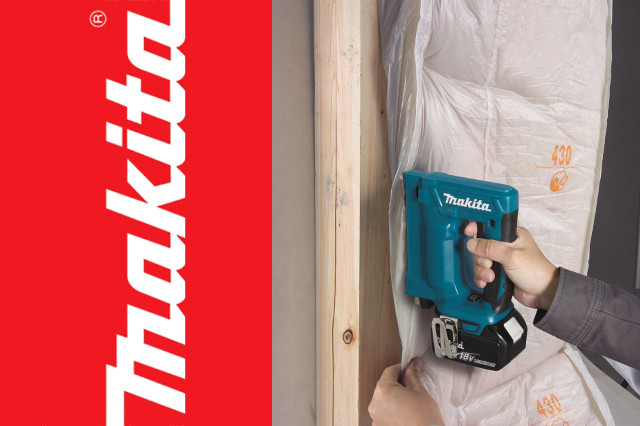 Makita Launch LXT 18V and 14.4V 10MM Staplers