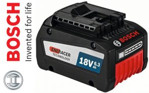 Bosch announces the new GBA 18 V 6.3 Ah Professional EneRacer