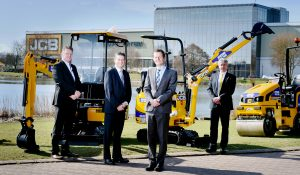 JEWSON PLACES MULTI-MILLION POUND ORDER FOR JCB MACHINES