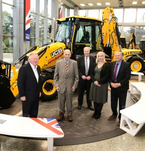 JC Balls and Sons Buy 750 000th JCB machine!