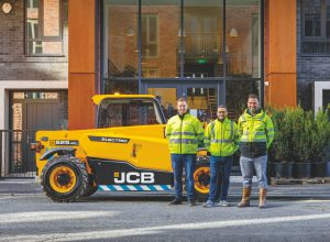 NEW JCB LOADALL MAKES ELECTRIC START WITH DOMIS ORDER