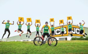 JCB employees launch £70,000 NSPCC appeal