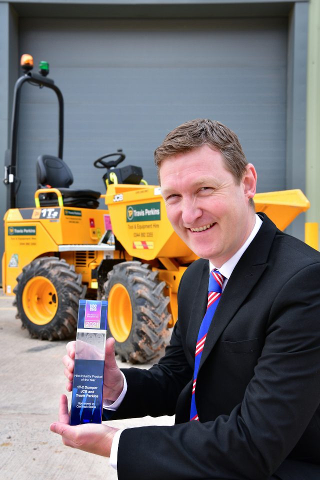 Hire Industry Product of the Year for the development of the JCB 1T-2  site dumper